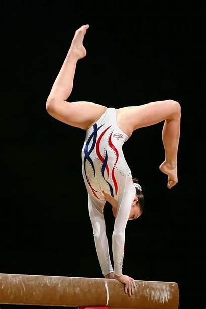 Mustafina Aliya Gymnastics Poses Beam Gymnast Amazing
