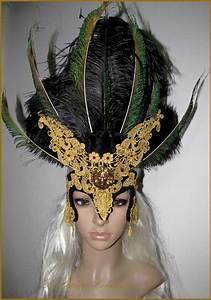 Déguisement Halloween Fait Maison : masque dentelle d guisement caranaval venise halloween ~ Melissatoandfro.com Idées de Décoration