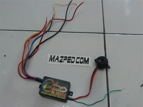 pasang pengaman motor sensor sentuh alsento di vario 125 mazpedia