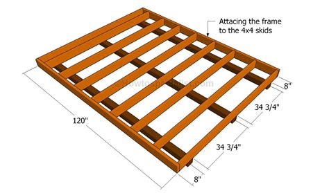 Shed Floor Plans by How To Build A Shed Floor Floor Plans Shed Floor