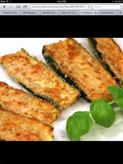 Zucchini Oven Fries Fried