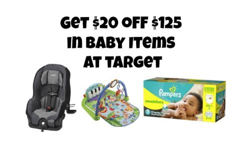 target coupon code     baby purchases