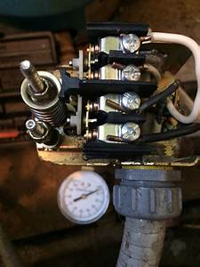Well Pump Pressure Switch Repair