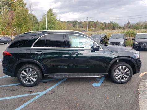 The gle is the bestseller in the suv segment: New 2021 Mercedes-Benz GLE 350 4MATIC SUV   Emerald Green Metallic OC21-38