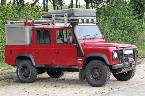 Expedition Equipped Land Rover Defender Td5 110 Crew Cab