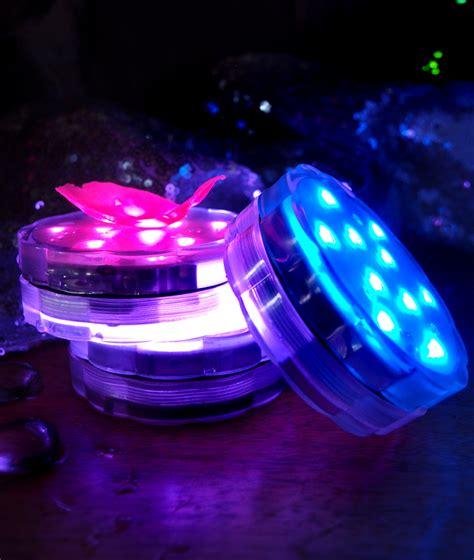 submersible led lights submersible led waterproof floral flower vase light base