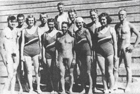 vintage mens swim team ymca