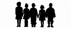 School Children Silhouette Clip Art – 101 Clip Art