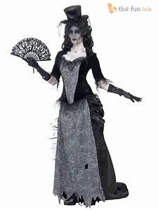 ladies ghostly black widow costume zombie ladies halloween With robe halloween femme