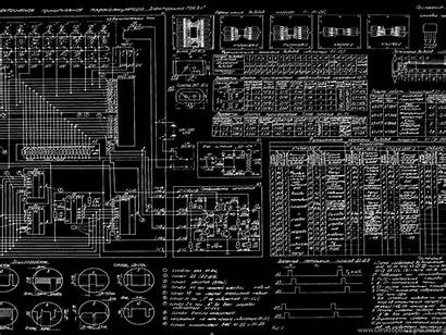 Schematic Diagram Blueprint Bw Russian Wallpapers Background