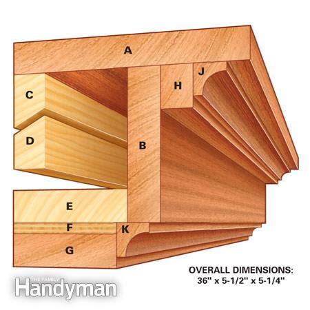 how to make a fireplace mantel how to build a wall shelf the family handyman