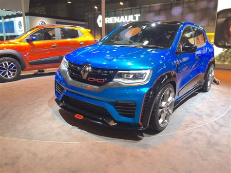 Auto Expo 2016 Renault Unveils Kwid 10 L, Amt Along With