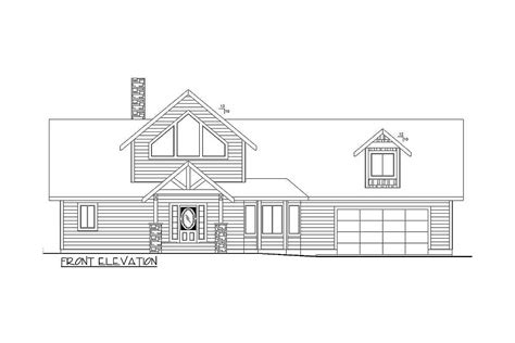 Plan 35514GH: 3 Bed Sloping Lot House Plan with Grand Rear