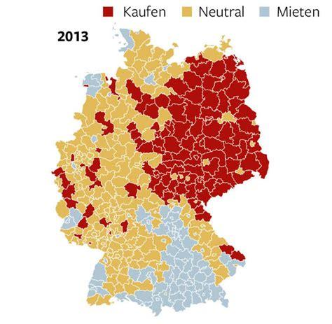 Häuser Mieten Deutschland by Karte Immobilienpreise Deutschland My