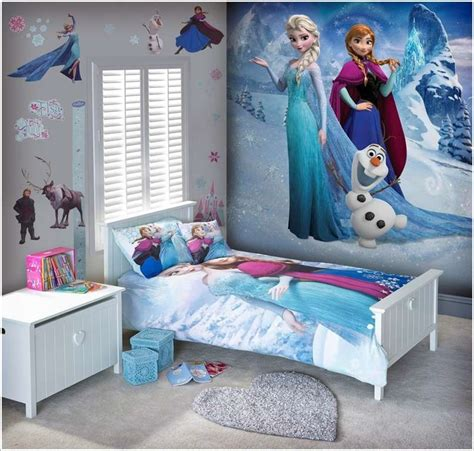 frozen  inspired kids room decor ideas
