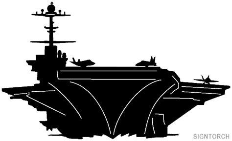 Navy Aircraft Carrier  Readytocut  Vector Art For Cnc