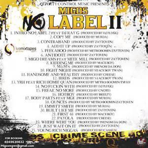 migos quot no label 2 quot release date cover art tracklist download mixtape stream hiphopdx