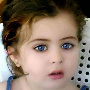 beautful blue eyes - Cute Baby Picture