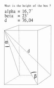 Diagonale Eines Rechtecks Berechnen : quader gesucht wird die h he in einem quader mathelounge ~ Themetempest.com Abrechnung