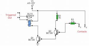 water activated relay uses transistor bc108 circuit diagram With relay wiring diagram in addition voltage sensing relay wiring together