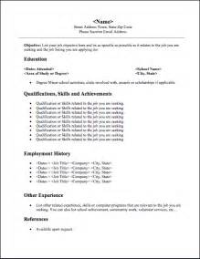 resume format of it students student resume student resume sle