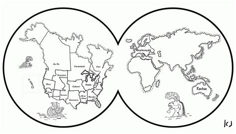world map coloring page  kids coloring home