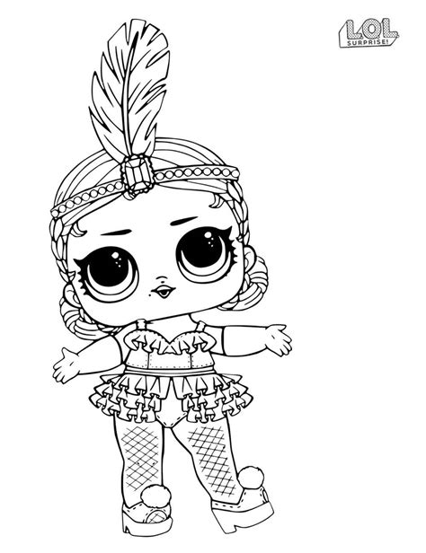 awesome lol dolls coloring pages sheet lol surprise doll