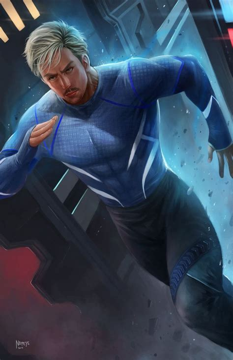 quicksilver  nopeys  deviantart quicksilver marvel