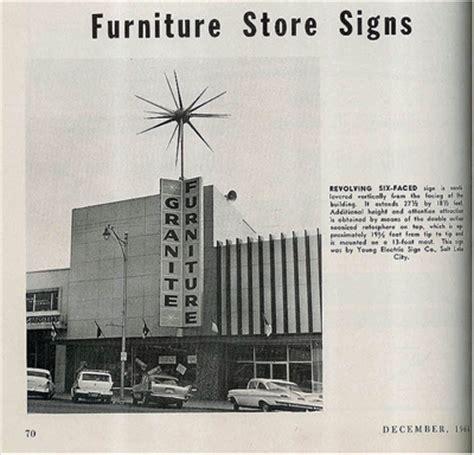 granite furniture sugarhouse utah vintage ad