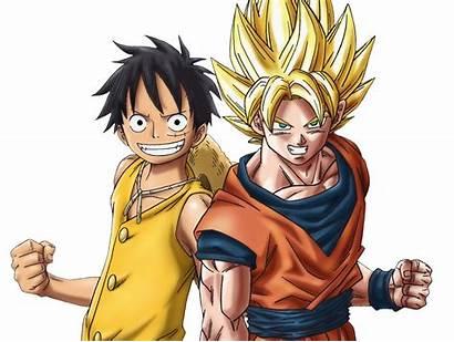Goku Luffy Anime Fanpop Fan Debate Fanart