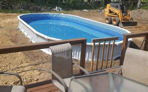 Above Ground Pool Install  Installation Instructions