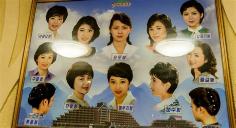 North Korean Men And Women Have A Choice Of Just 15 Approved Hairstyles Popular Hairstyles For Heart Shaped Faces Fall 2014 Long Haircut To Do Easily 2016 Kelly Clarkson Short Hair Pics Wedding Loose Waves Blonde And Cuts Angled Haircuts