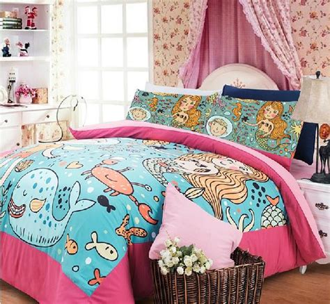 mermaid comforter set mermaid bedding print comforter sheets beding set