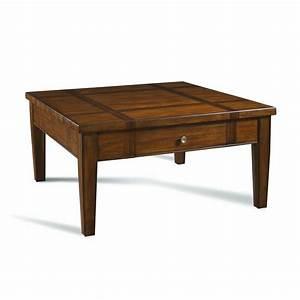 shop somerton home furnishings runway medium dark brown With large dark brown coffee table