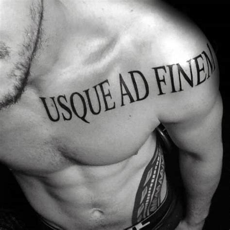 Latin Tattoos For Men  Ideas And Designs For Guys