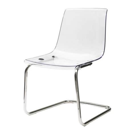 chaise ikea transparente tobias chaise ikea