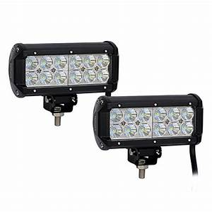 Jeep led flood lights : Nilight pcs w flood led work light off road