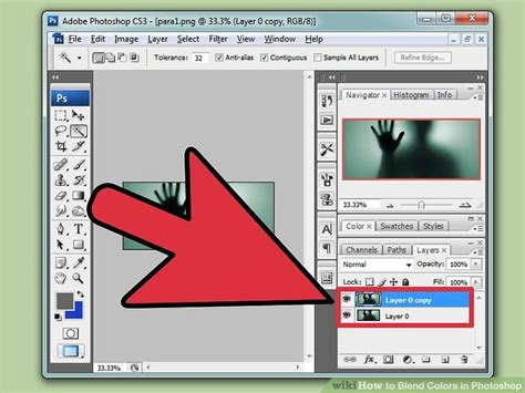 How To Blend Colors In Photoshop (with Pictures) Wikihow