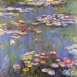 """Kunstdruck """"Seerosen"""" von Monet Claude"""