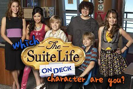 Cast Of Sweet On Deck by Which Suite On Deck Character Are You Buddytv