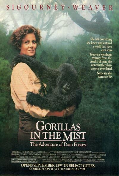Gorilla Resumen by Carteles De La Pel 237 Cula Gorilas En La Niebla El S 233 Ptimo Arte