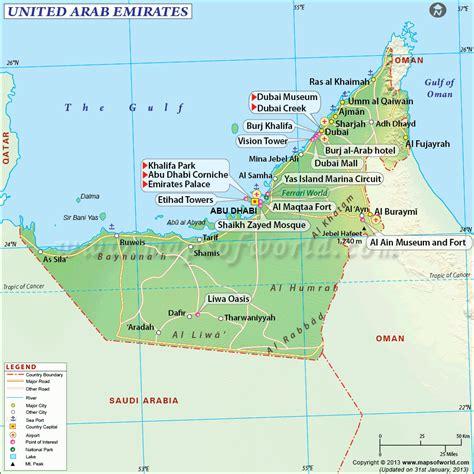 check   united arab emirates map maps dubai map