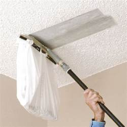 Scraping Popcorn Ceilings While Pregnant by You Can Attach A Plastic Bag To This Popcorn Ceiling
