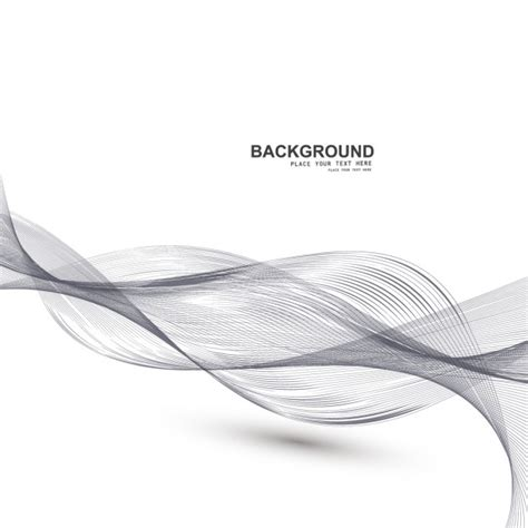 Abstract Shapes Curve by Abstract Background With Motion Free Vectors Ui