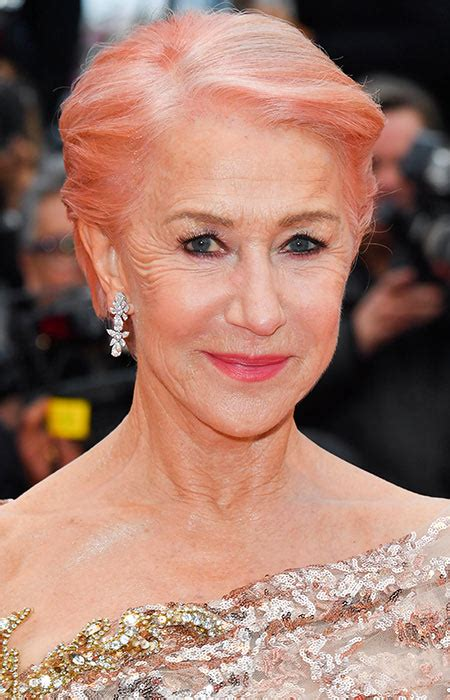 17 Celebrities With Pink Hair From Helen Mirren To Lady