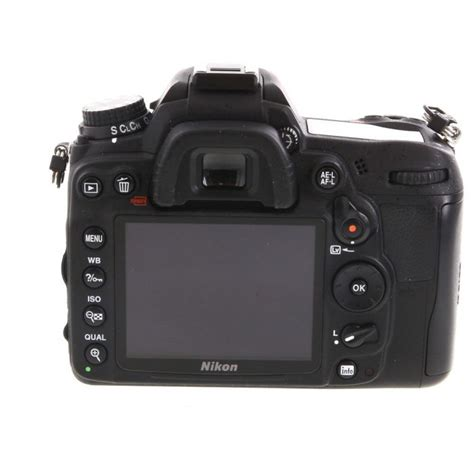 Premium picture quality and superb performance are yours with this nikon digital slr camera. Nikon D7000 Digital SLR Camera Body {16.2 M/P} at KEH Camera