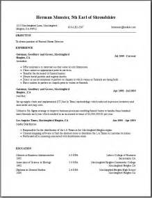 Resume Maker Template Free Resume Templates