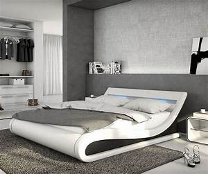 Bett Hochglanz Weiß 180x200 : delife bett belana weiss schwarz 180x200 cm kaufen otto ~ Bigdaddyawards.com Haus und Dekorationen