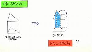 Volumen Eines Kreises Berechnen : volumen und oberfl che eines prismas berechnen mathematik sofatutor ~ Themetempest.com Abrechnung