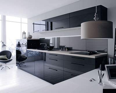 deco cuisine noir  gris